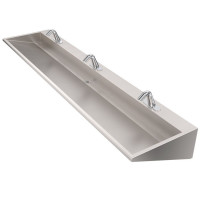 WSW390 Wedge Three-Station Hand Wash Trough
